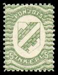 5 First Issue 1920 Stamp North Ingria
