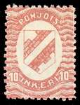 10 First Issue 1920 Stamp North Ingria