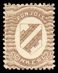 25 First Issue 1920 Stamp North Ingria