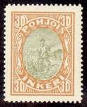 30 Second Issue 1922 Stamp North Ingria