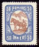 50 Second Issue 1922 Stamp North Ingria
