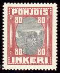 80 Second Issue 1922 Stamp North Ingria