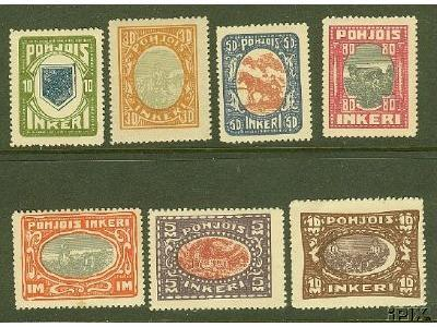 Ingermanland Stamps